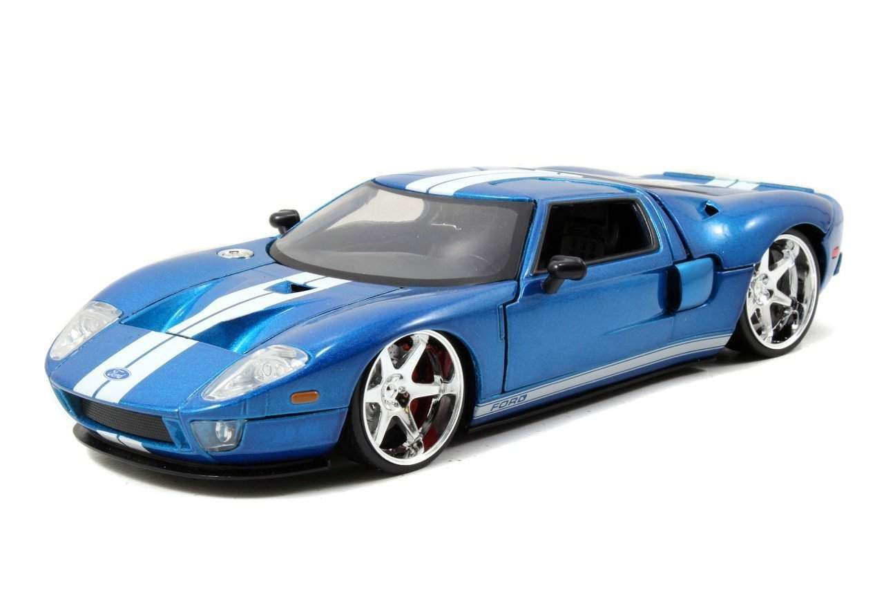 Fast Furious Movie Ford Gt Blue Cast Vehicle