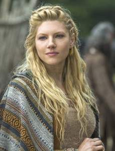 """Photo by Jonathan Hession courtesy the History Channel; Katheryn Winnick, a martial arts champion, plays a warrior woman and now earl in the History Channel's """"Vikings."""""""