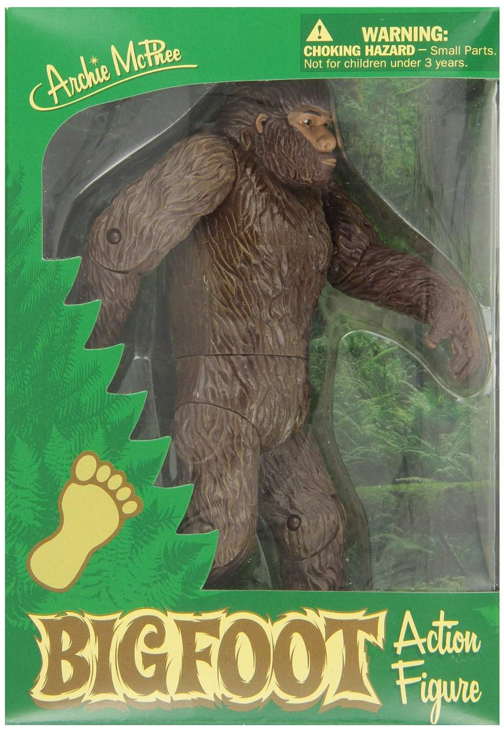 Bigfoot Action Figure Captain Hollywood S Curiosity Shop