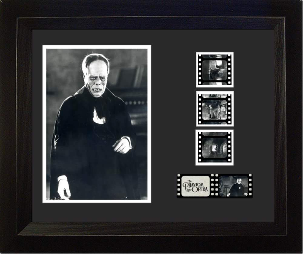 Phantom of the Opera Lon Chaney Sr. 35mm Film Cell Display
