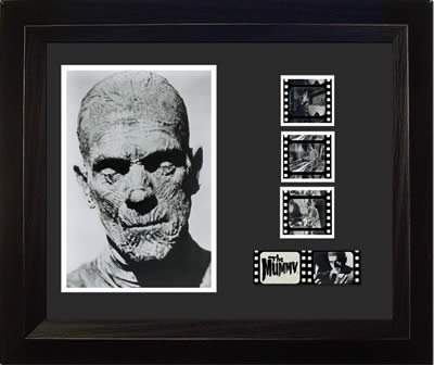 The MUMMY 1932 Boris Karloff Universal Horror Monster Movie 35mm Film Cell Display!