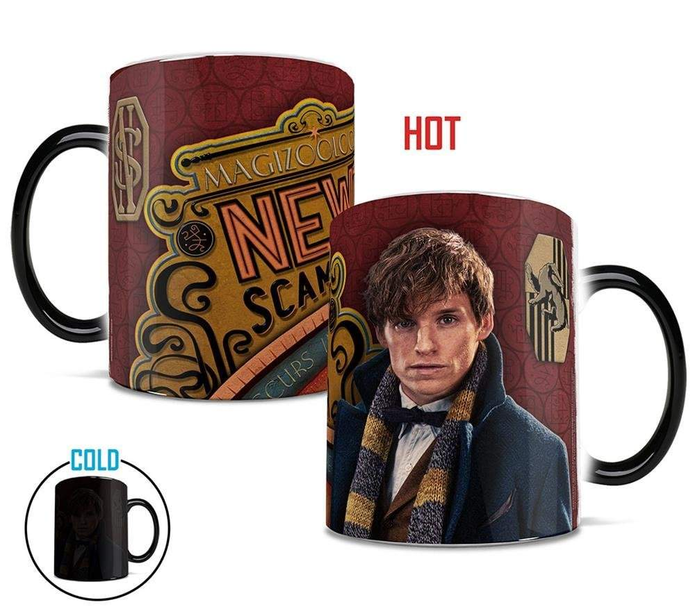 Morphing Mugs Fantastic Beast and Where To Find Them New Scamander Heat Reveal Ceramic Coffee Mug – 11 Ounces