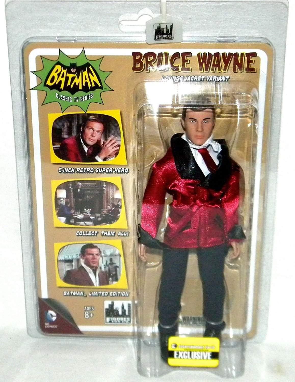 Bruce Wayne Lounge Jacket Variant Action Figure Entertainment Earth Exclusive