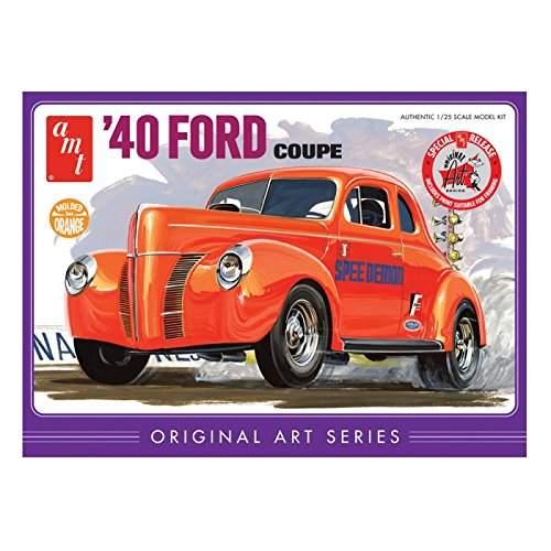 '40 Ford Coupe Original Art Series, Orange Model Kit