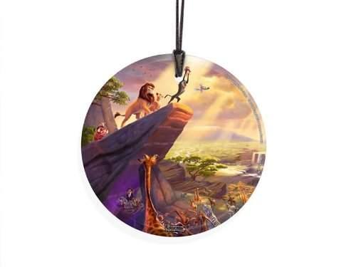 StarFire Prints Glass Ornament Thomas Kinkade Disney (The Lion King)