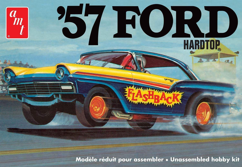 1957 Ford Hardtop Plastic Model Kit (1:25 Scale)