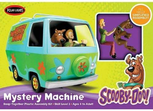 Scooby-Doo Mystery Machine Snap Kit (1:25 Scale)
