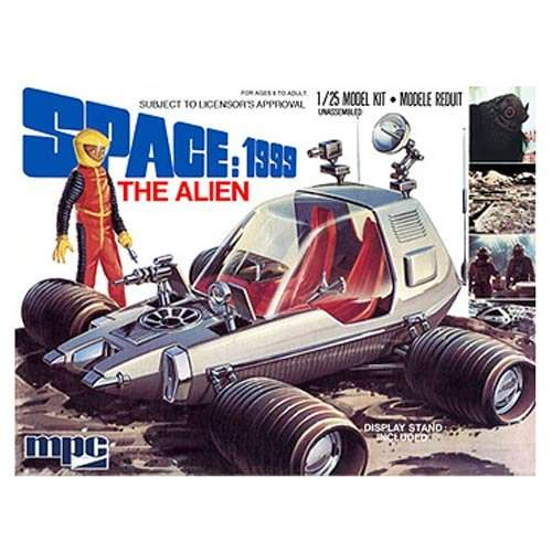 Space 1999: The Alien (Moon Rover) (1:25 Scale)