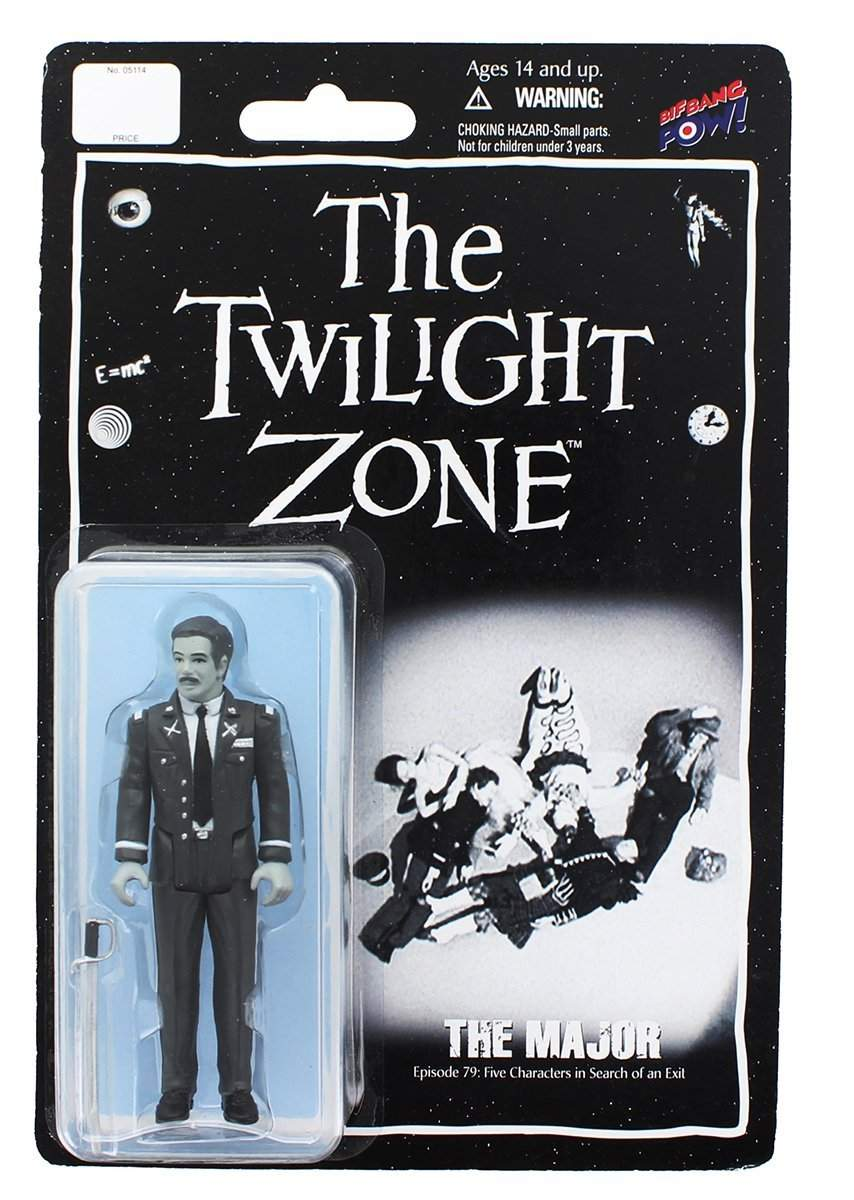 The Twilight Zone Army Major 3 3/4-Inch Figure Series 3