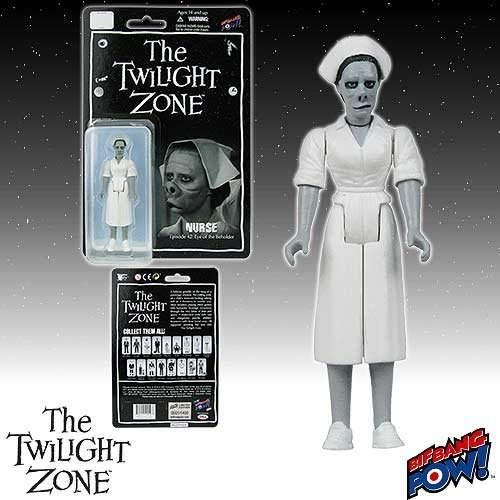The Twilight Zone Nurse 3 3/4-Inch Figure Series 2