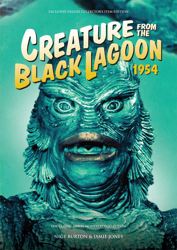 Creature from the Black Lagoon Softcover Book Classic Movie Monsters Guide!
