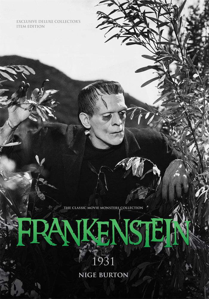 Frankenstein 1931 Large Softcover Book Classic Movie Monsters Guide! MINT!