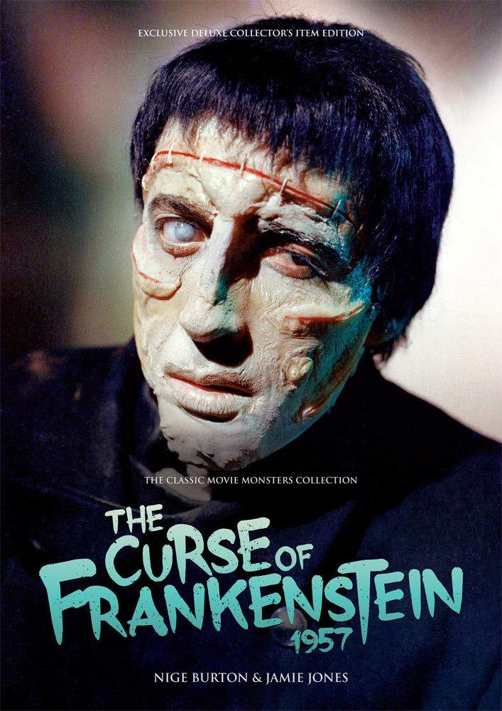 The Curse of Frankenstein Large Softcover Book HAMMER Movie Monsters Collection!