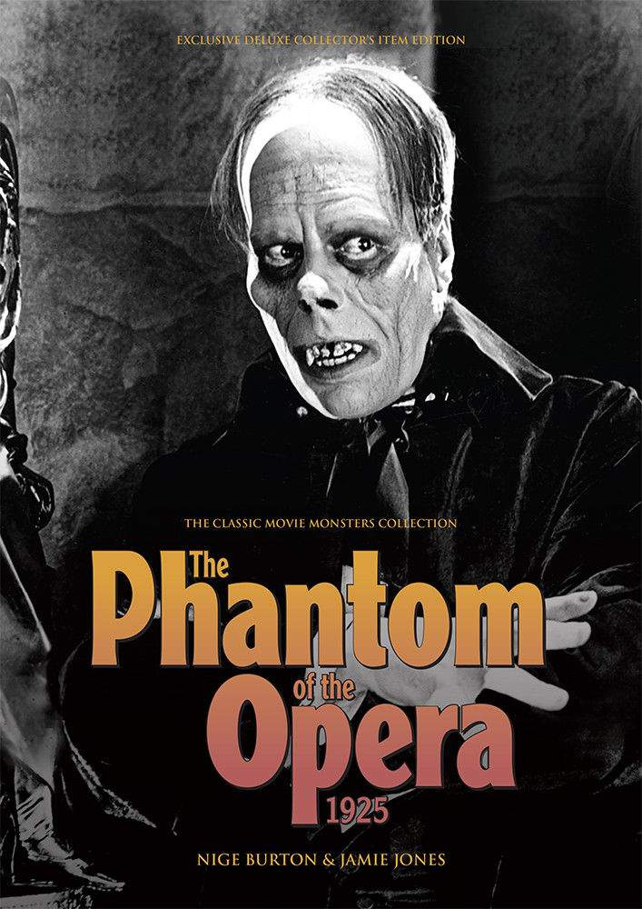 The Phantom of the Opera 1925 Classic Movie Monsters Collection Book!