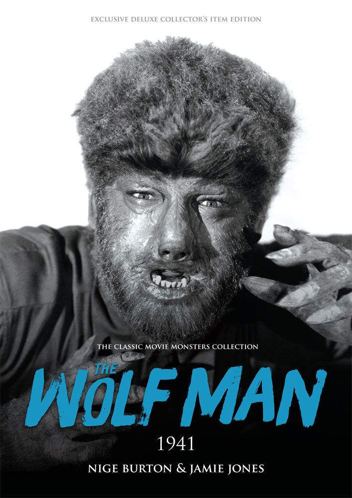 The Wolf Man 1941 Large Softcover Book Classic Movie Monsters Lon Chaney Jr.!