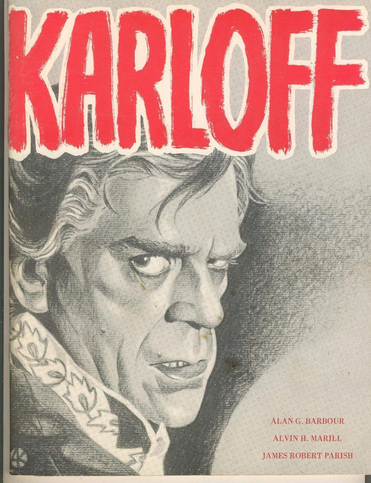 BORIS KARLOFF Photo Book Universal Monsters Roles Forrest Ackerman Collection