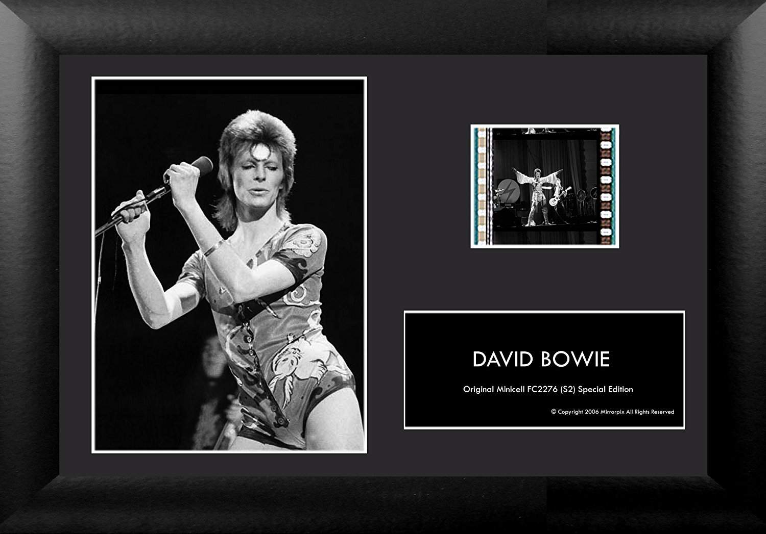 David Bowie 35mm Film Cell Minicell