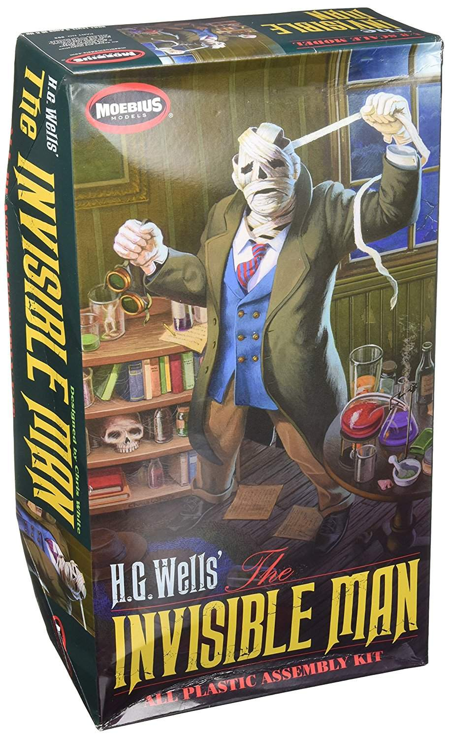HG Wells Invisible Man Plastic Assembly Kit (1/8 Scale)