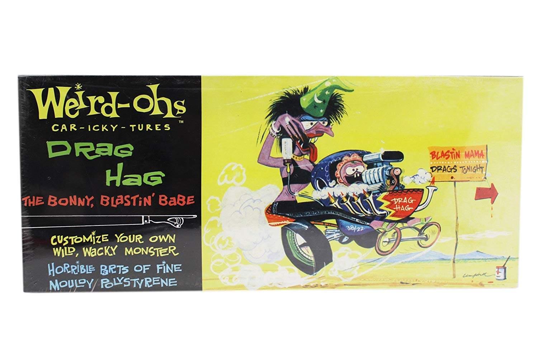 Weird-Ohs Car-Icky-Tures Drag Hag the Bonny, Blastin' Babe Model Kit